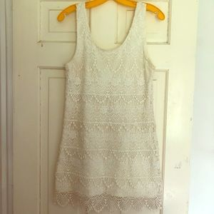 Off White Summer Dress